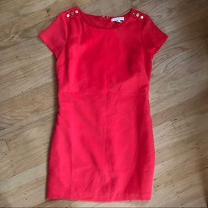 Mini Forever 21 dress red/pink size small